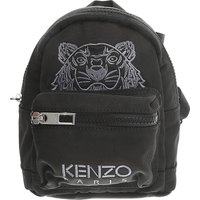 Kenzo Backpack for Men, Black, Nylon, 2017, one size one size