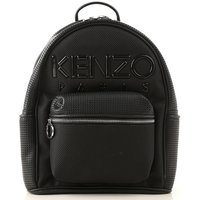 Kenzo Backpack for Women, Black, Leather, 2019