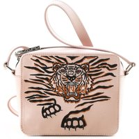 Kenzo Shoulder Bag for Women, Pink, Leather, 2017