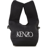 Kenzo Bolso Tote Bag, Negro, Nailón, 2017