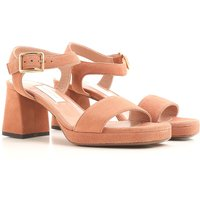 Lautre Chose Sandals for Women On Sale in Outlet, Dark Peach, Suede leather, 2019, 4.5 6.5