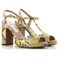 Lautre Chose Sandals for Women, Yellow, Leather, 2019, 3.5 4.5 5.5 6.5 7.5