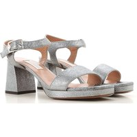 Lautre Chose Sandals for Women, Steel, Leather, 2019, 3.5 4 4.5 5.5 6 6.5 7.5