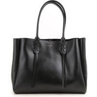 Lanvin Tote Bag On Sale, Black, Leather, 2017