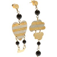 Lebole Earrings for Women On Sale, Gold, Silver 925 Galvanized Gold, 2019