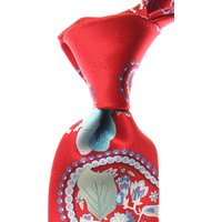 Leonard Ties On Sale, Red, Silk, 2021
