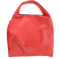 Liviana Conti Tote Bag On Sale, Red, Leather, 2019