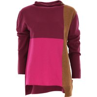 Liviana Conti Sweater for Women Jumper, Violet, Virgin wool, 2019, 10 12 14