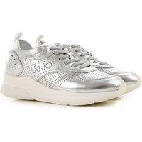 Liu Jo Sneakers for Women, Silver, Leather, 2019, 3.5 4.5 5.5 6.5 7.5