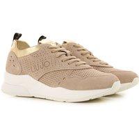 Liu Jo Sneakers for Women, Beige, Suede leather, 2019, 5.5 7.5