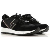 Liu Jo Sneakers for Women On Sale, Black, Nylon, 2019, 3.5 4.5 7.5