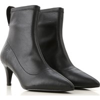 Liu Jo Boots for Women, Booties, Black, Leather, 2019, 3.5 7.5