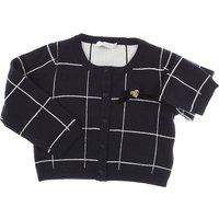Liu Jo Baby Sweaters for Girls On Sale, Blue, Cotton, 2019, 12M 18M 9M