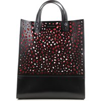 Lulu Guinness Tote Bag, Black, Leather, 2019
