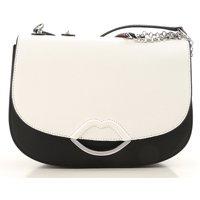 Lulu Guinness Shoulder Bag for Women, White, Leather, 2019