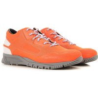Lanvin Sneakers for Men On Sale in Outlet, Fluo Orange, Leather, 2019, 5 6 7 8