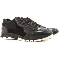Lanvin Sneakers for Men, Black, Fabric, 2017, 10 6 7 8 9