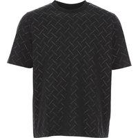 Marcelo Burlon T-Shirt for Men On Sale, Black, Cotton, 2019, L S