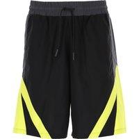 Marcelo Burlon Shorts for Men On Sale, Black, Cotton, 2019, 30 32 34