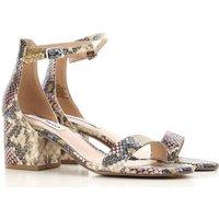 Steve Madden Sandals for Women On Sale, Stone, Eco Leather, 2019, US 6 - EU 36 US 6.5 - EU 37 US 7 -