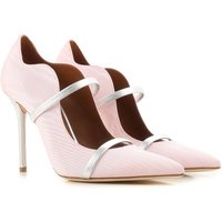 Malone Souliers Pumps & High Heels for Women On Sale, Light Pink, Fabric, 2017, 2.5 3.5 4 4.5 5.5 6