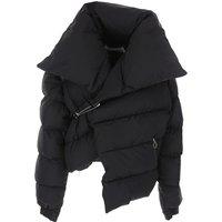 Marques Almeida Down Jacket for Women, Puffer Ski Jacket On Sale, Black, polyamide, 2019, 10 6