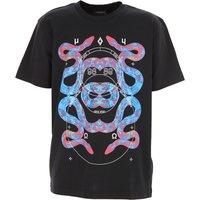 Marcelo Burlon Kids T-Shirt for Boys On Sale, Black, Cotton, 2019, 10Y 12Y 14Y 4Y 6Y 8Y