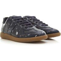 Maison Margiela Sneakers for Men, Dark Blue, Leather, 2021, 5.5 6 6.5 6.75 8.5 9 9.25 9.5