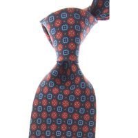 Marinella Ties On Sale, Dark Midnight Blue, Silk, 2019