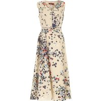 Max Mara Dress for Women, Evening Cocktail Party On Sale, Sand, Cotton, 2019, USA 4 -- IT 38 USA 12