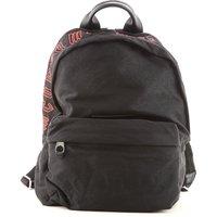 Alexander McQueen McQ Backpack for Men On Sale, Black, Cotton, 2019