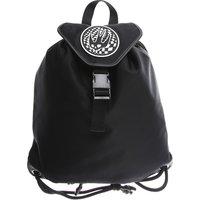 Alexander McQueen McQ Backpack for Men, Black, Nylon, 2019
