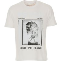 Alexander McQueen McQ T-Shirt for Men On Sale, White, Cotton, 2019, L M S
