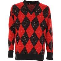 Alexander McQueen Sweater for Men Jumper, Black, Wool, 2019, L M S
