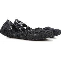 Melissa Ballet Flats Ballerina Shoes for Women, Black, PVC, 2017, USA 6 - EUR 37 USA 7 - EUR 38 USA