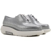 Melissa Womens Shoes, Melissa + Vitorino Campos, Silver, PVC, 2017, USA 5 - EUR 35/36 USA 9 - EUR 40