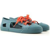 Melissa Sneakers for Women On Sale, Green, PVC, 2019, USA 5 - EUR 35/36 USA 6 - EUR 37 USA 7 - EUR 3