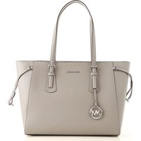 Michael Kors Tote Bag On Sale, Pearl Grey, Leather, 2021