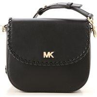 'Michael Kors Shoulder Bag For Women On Sale In Outlet, Black, Leather, 2019