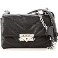 Michael Kors Shoulder Bag for Women On Sale, Black, Leather, 2019