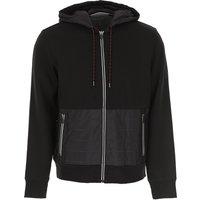 Michael Kors Sweatshirt for Men On Sale, Black, Cotton, 2019, M S XL