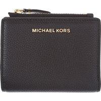 Michael Kors Womens Wallets On Sale, Black, Leather, 2019