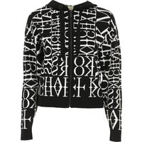 Michael Kors Sweatshirt for Women On Sale, Black, viscosa, 2019, 6 8