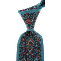 Mila Schon Ties On Sale, Teal Green, Silk, 2019