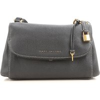Marc Jacobs Shoulder Bag for Women On Sale, Black, Leather, 2019
