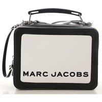 Marc Jacobs Top Handle Handbag On Sale, White, Leather, 2019