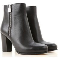 Michael Kors Boots for Women, Booties On Sale, Black, Leather, 2019, 2.5 3.5 6.5 7.5
