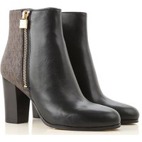 Michael Kors Boots for Women, Booties On Sale, Black, Leather, 2019, 3.5 4 5.5 6