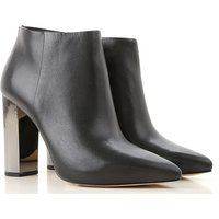 Michael Kors Boots for Women, Booties On Sale, Black, Leather, 2019, 3 3.5 4.5 5.5 6 7.5