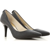 Michael Kors Pumps & High Heels for Women On Sale in Outlet, Black, Leather, 2017, 3.5